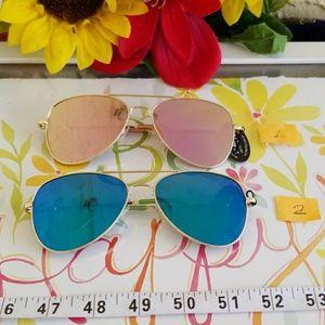 Accessories - Sunglasses aviator unisex sunglasses mirrored